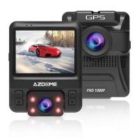 Azdome GS65H, видеорегистратор с камерой заднего вида - фото