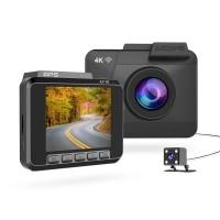Azdome M06, 4K видеорегистратор с камерой заднего вида - фото