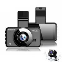 Azdome M17, видеорегистратор с камерой заднего вида - фото